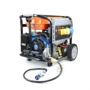P1PE 8kW / 10kVA* Recoil & Electric Start Site Dual Fuel Petrol / LPG Generator P10000LELPG